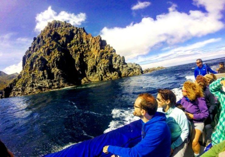 Explore coast of Anaga on boat trip