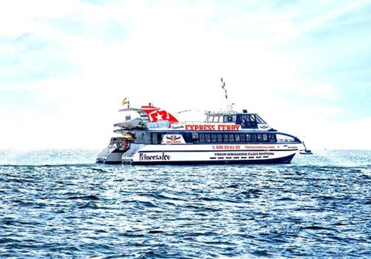 Express Ferry Lanzarote to Fuerteventura