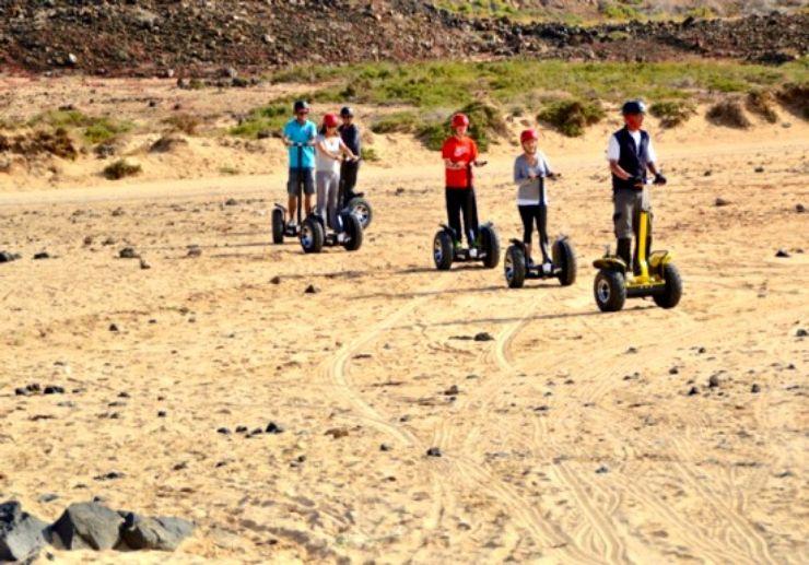 Corralejo segway tour Fuerteventura