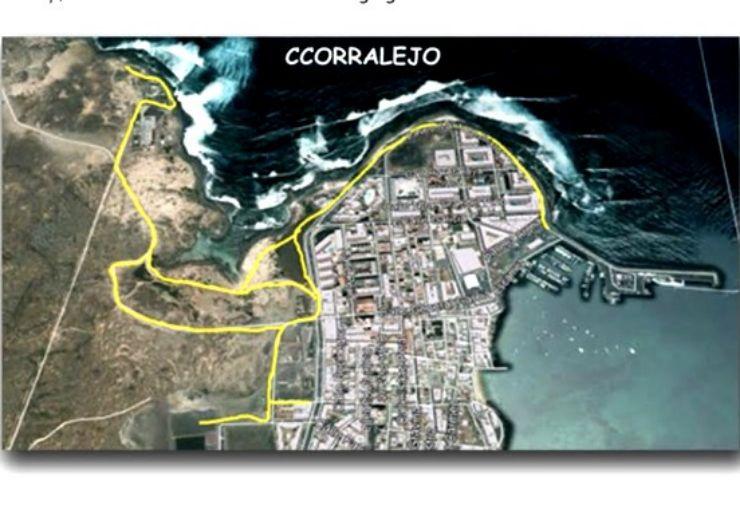 Segway tour Corralejo route map