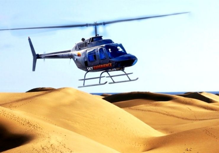 Gran Canaria helicopter tour beaches and ravines