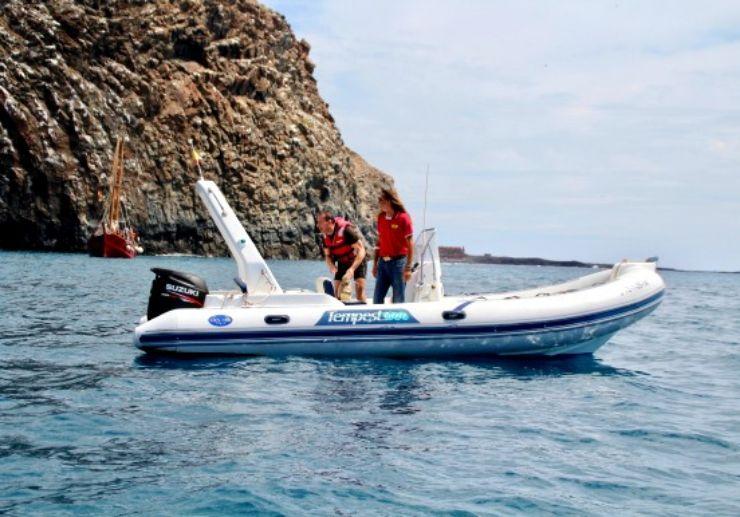 Lanzarote Jet ski safari support boat