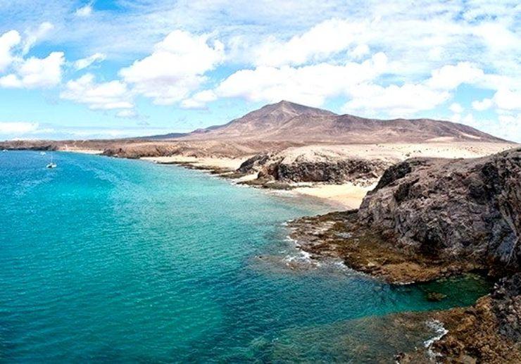 Amazing view of Papagayo coastal area