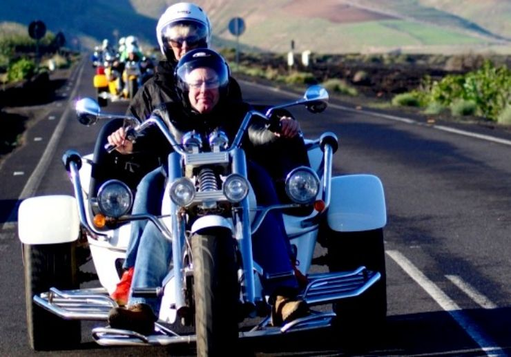 Guided Trike tour lanzarote