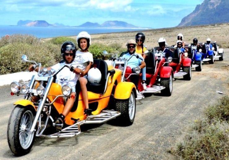Lanzarote trike guided tour