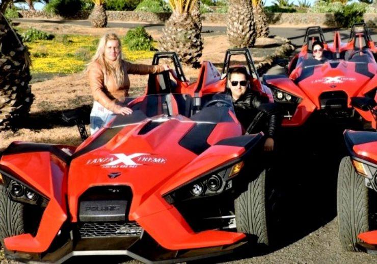 Xtreme slingshot tour Lanzarote