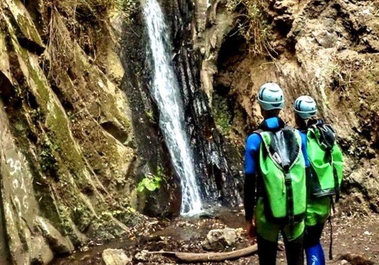Gran Canaria canyoning adventure