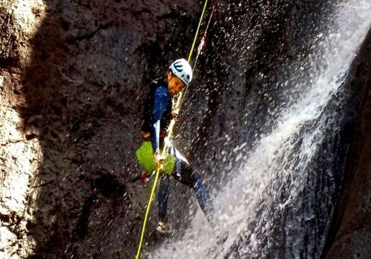 Abseiling and canyoning Gran Canaria