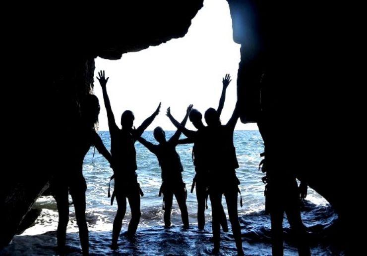 Gran Canaria coasteering cave visit