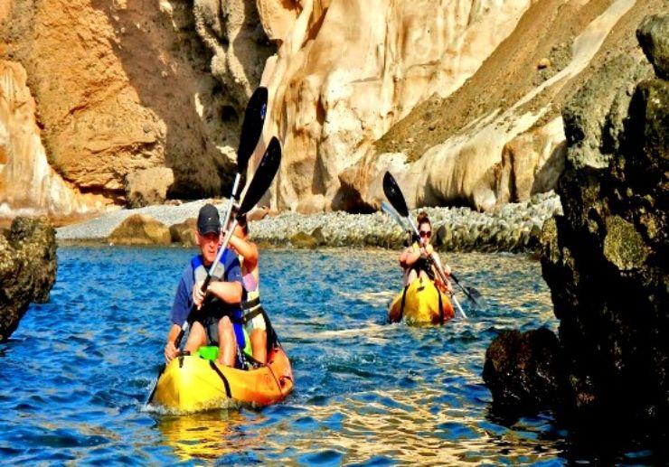 Kayaking in Gran Canaria south
