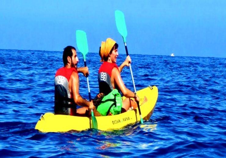Gran Canaria south coast kayaking