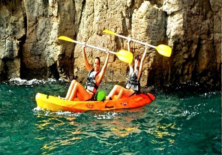 Kayak excursion Gran Canaria