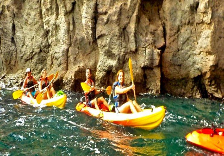 Kayaking tour Gran Canaria