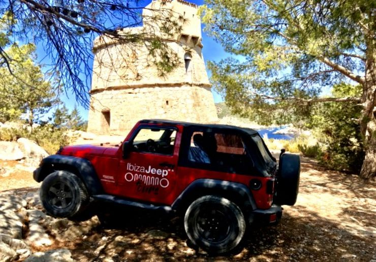 Jeep tour tower