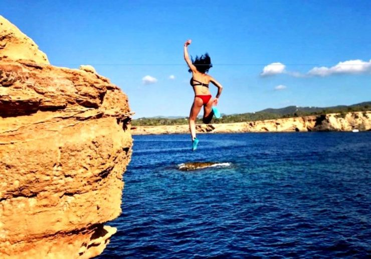 Ibiza jeep tour with cliff diving
