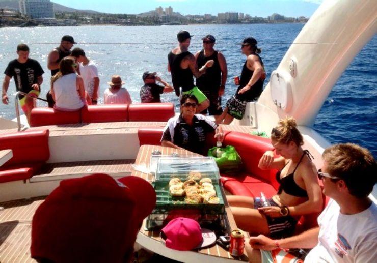 Luxury opera 60 private charter Tenerife