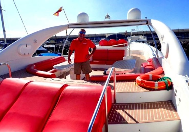 Opera 60 luxury private boat outing Tenerife
