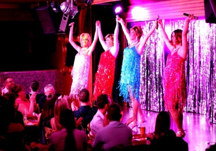 Fabulous drag show Music Hall Tavern