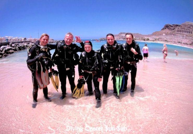 Discover scuba diving Gran Canaria