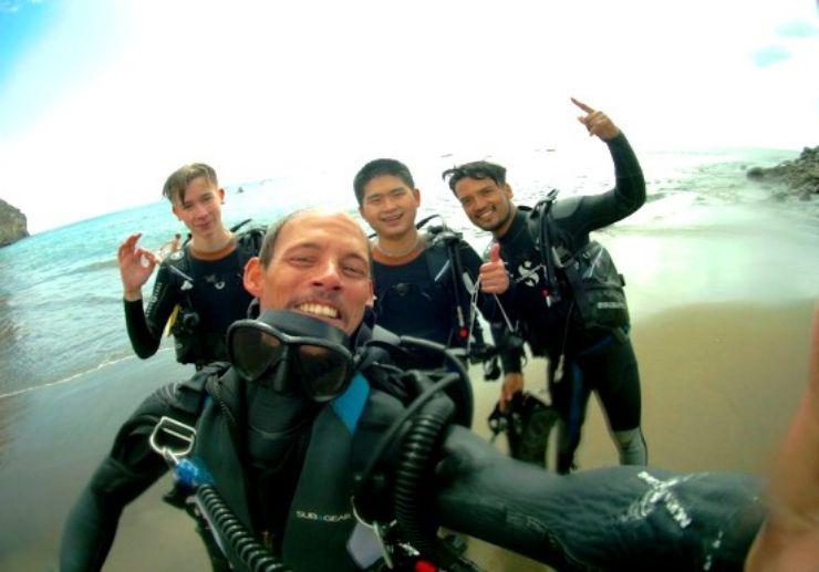 Discover Scuba diving in Gran Canaria