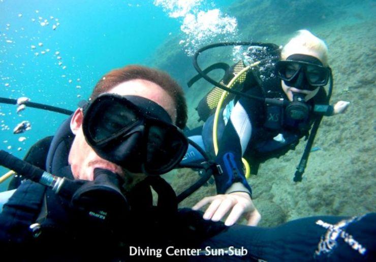 Try dive in Playa del Ingles
