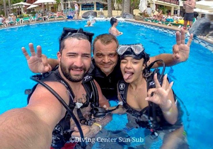 Try scuba diving Gran Canaria