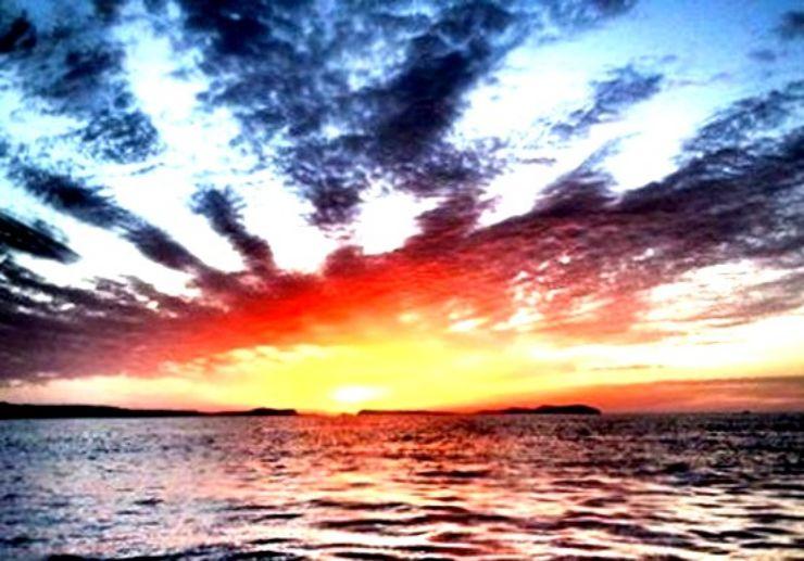Amazing Ibiza sunset