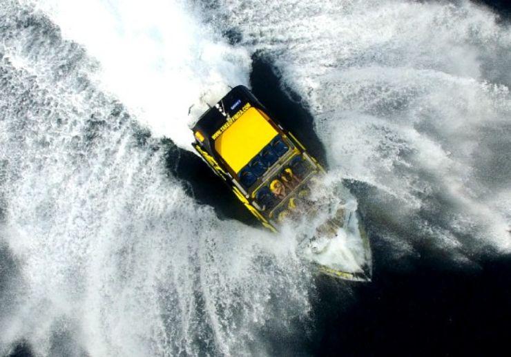 Adrenaline Jet boat ride in Ibiza