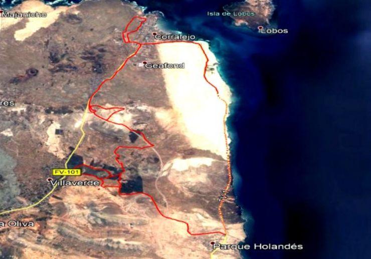 Fuerteventura buggy and quad safari route