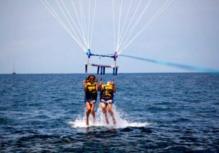 Ibiza parasailing excursion