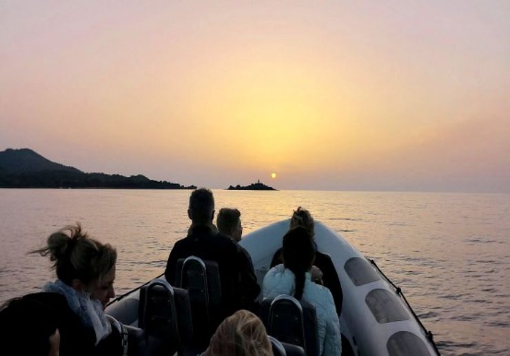Sunrise boat tour Mallorca