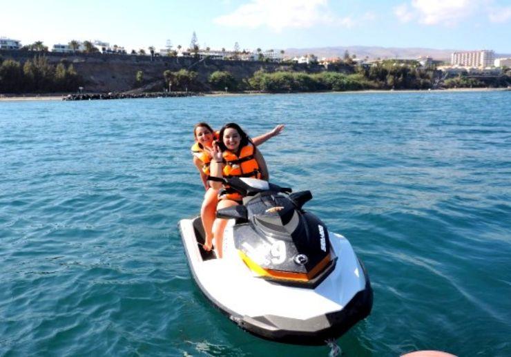Ride jetski in Playa Ingles Gran Canaria