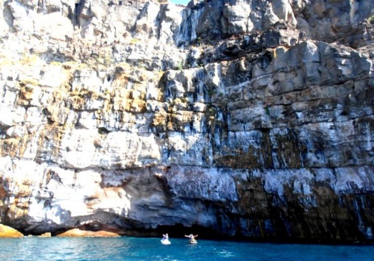 Cave visit on jet ski tour Gran Canaria
