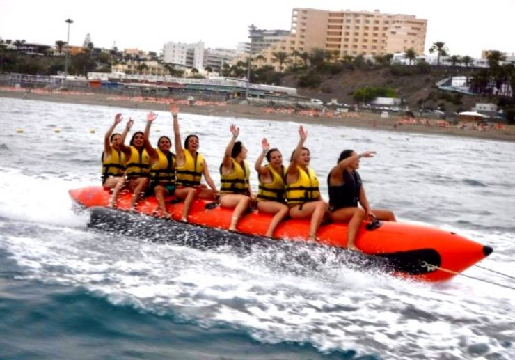 Banana boat ride Gran Canaria
