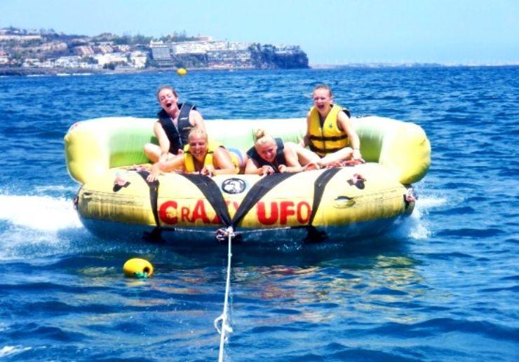 Gran Canaria crazy UFO ride