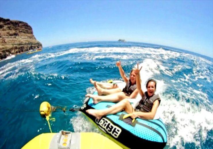Mini UFO ride Gran Canaria