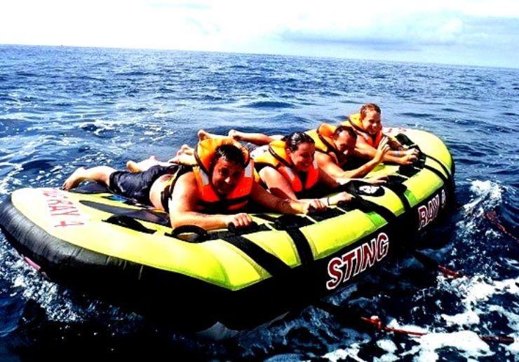Sting ray water sport playa mogan and taurito
