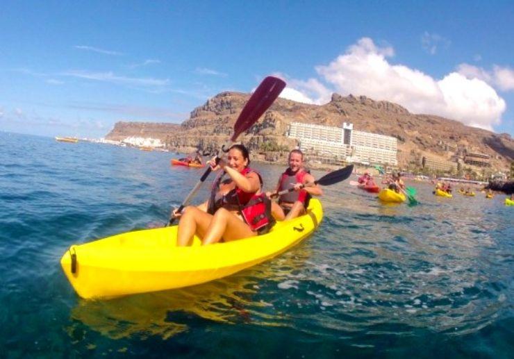 rent a kayak gran canaria