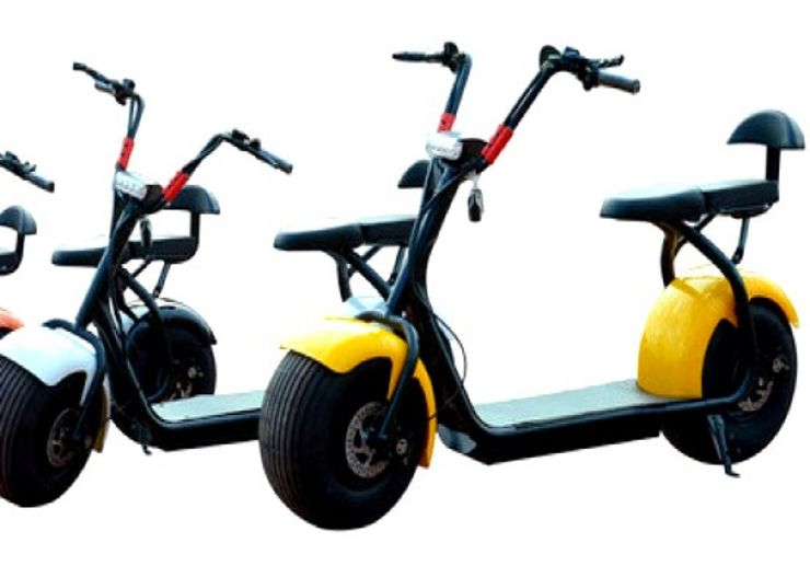 electrici scooter Chopper self guided tour