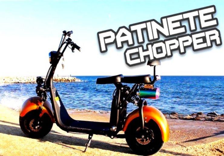 patinete electrico chopper