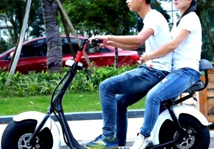 Electric-Scooter-Motor-with-Double-Seats