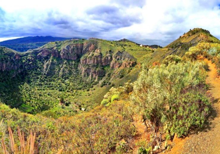 Gran Canaria amazing landscapes private wine tour