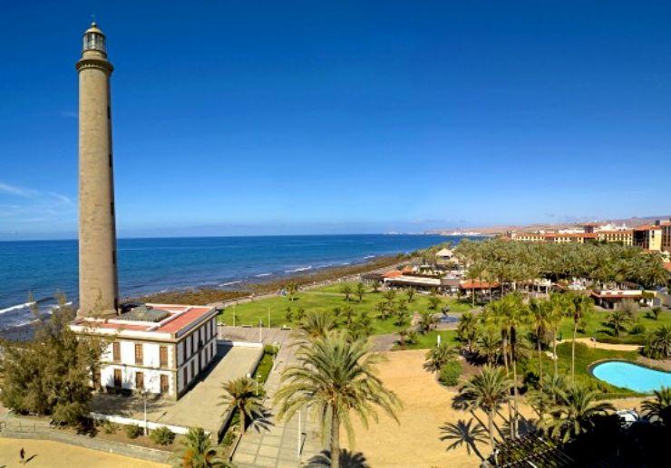 Maspalomas lighthouse Gran Canaria