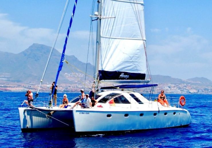 Catamaran sail Playa de las Americas