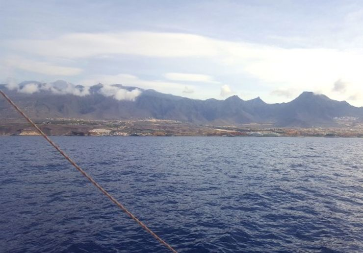 Stunning coastline Tenerife