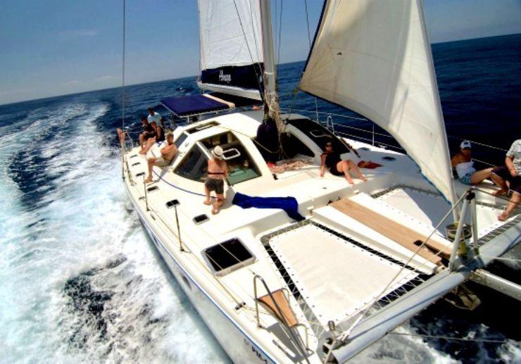 Tenerife Catamaran sailing