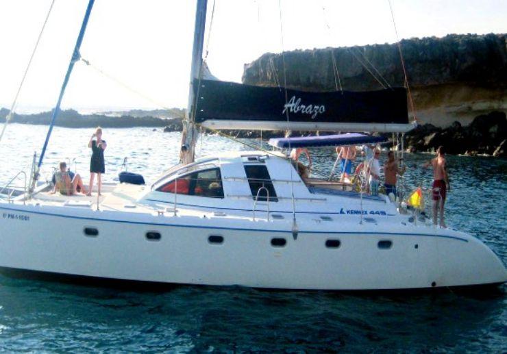 Catamaran tour Tenerife south