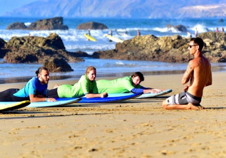 Fuerteventura surf course