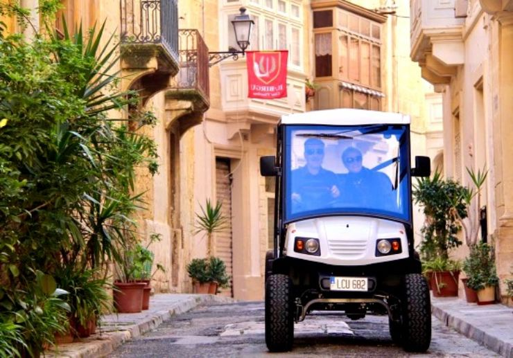Three cities self guided e-buggy tour 3 hours
