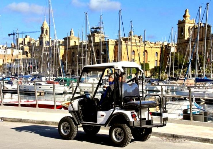 Electric buggy tour Malta freedom to explore